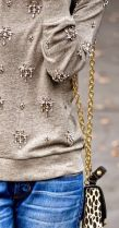 bejeweled sweatshirt