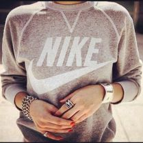 sporty sweatshirt