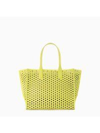 A Pretty Penny | Summer Carry-alls: Zara Perforated Shopper Bag