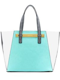 A Pretty Penny | Summer Carry-alls: Vince Camuto Jace Clear Pool Tote