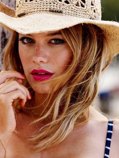 A Pretty Penny | Summer Beauty Bronzed Skin & Bold Lip