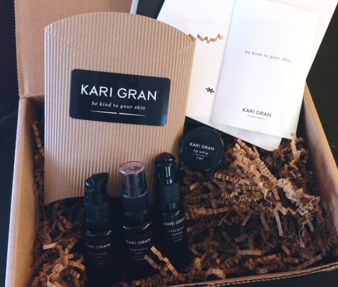 Kari Gran All Natural & Organic Skin Care | Review & Giveaway