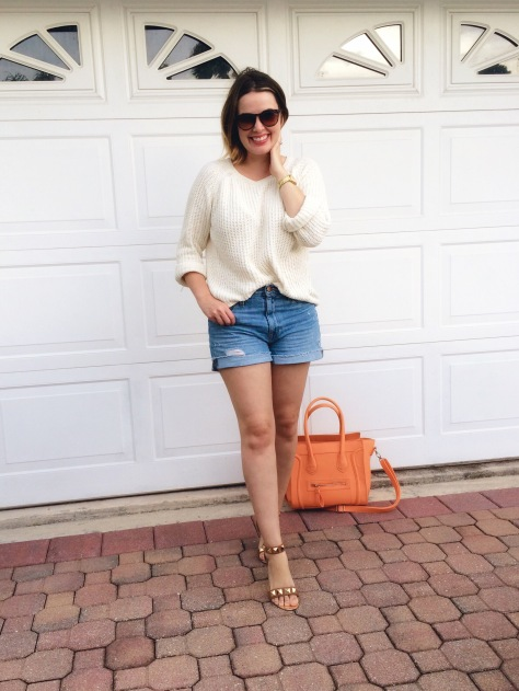 J.Crew Broken-In Boyfriend Shorts, Denim Shorts, Summer Style, Denim Cutoffs, Casual Style, A Pretty Penny, Style Blogger