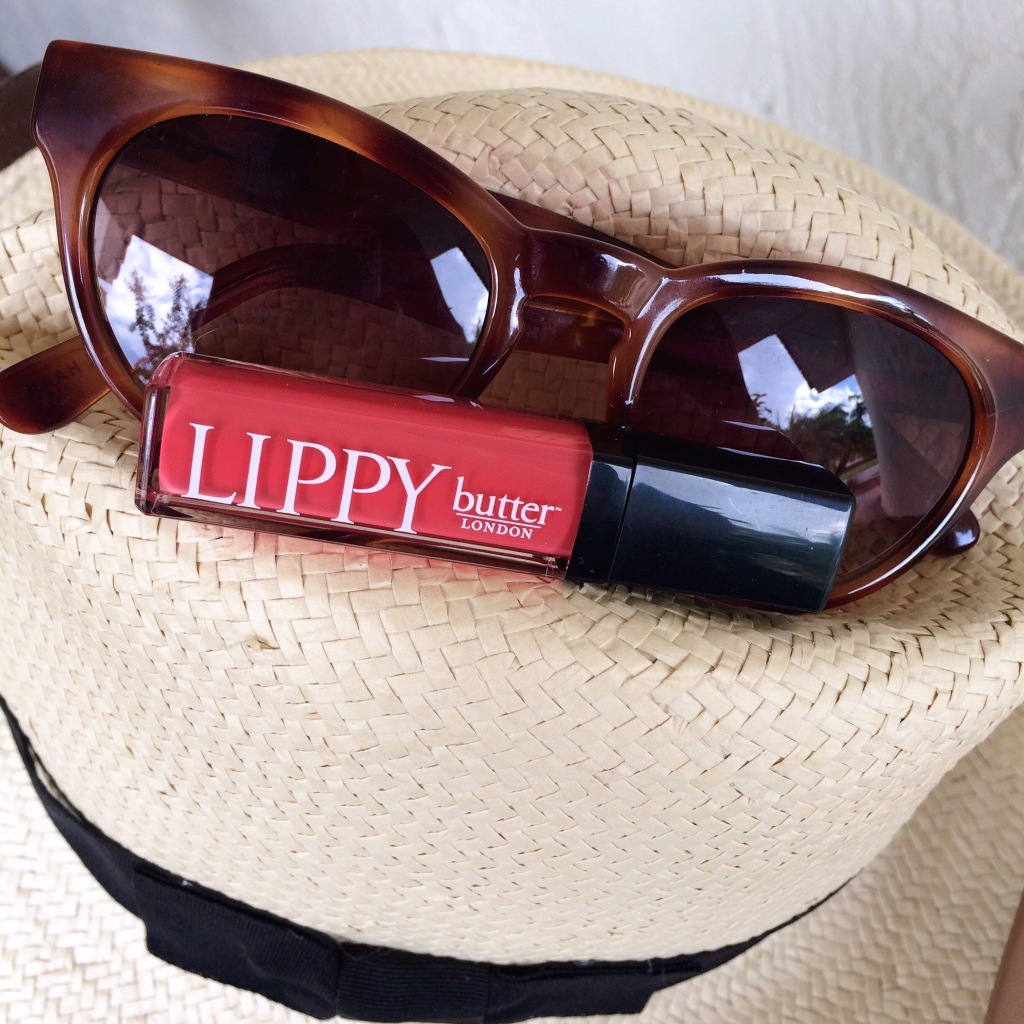 A Pretty Penny, Butter London Lippy Liquid Lipstick, Butter London Jaffa, Cole Haan Sunglasses, Summer Accessories
