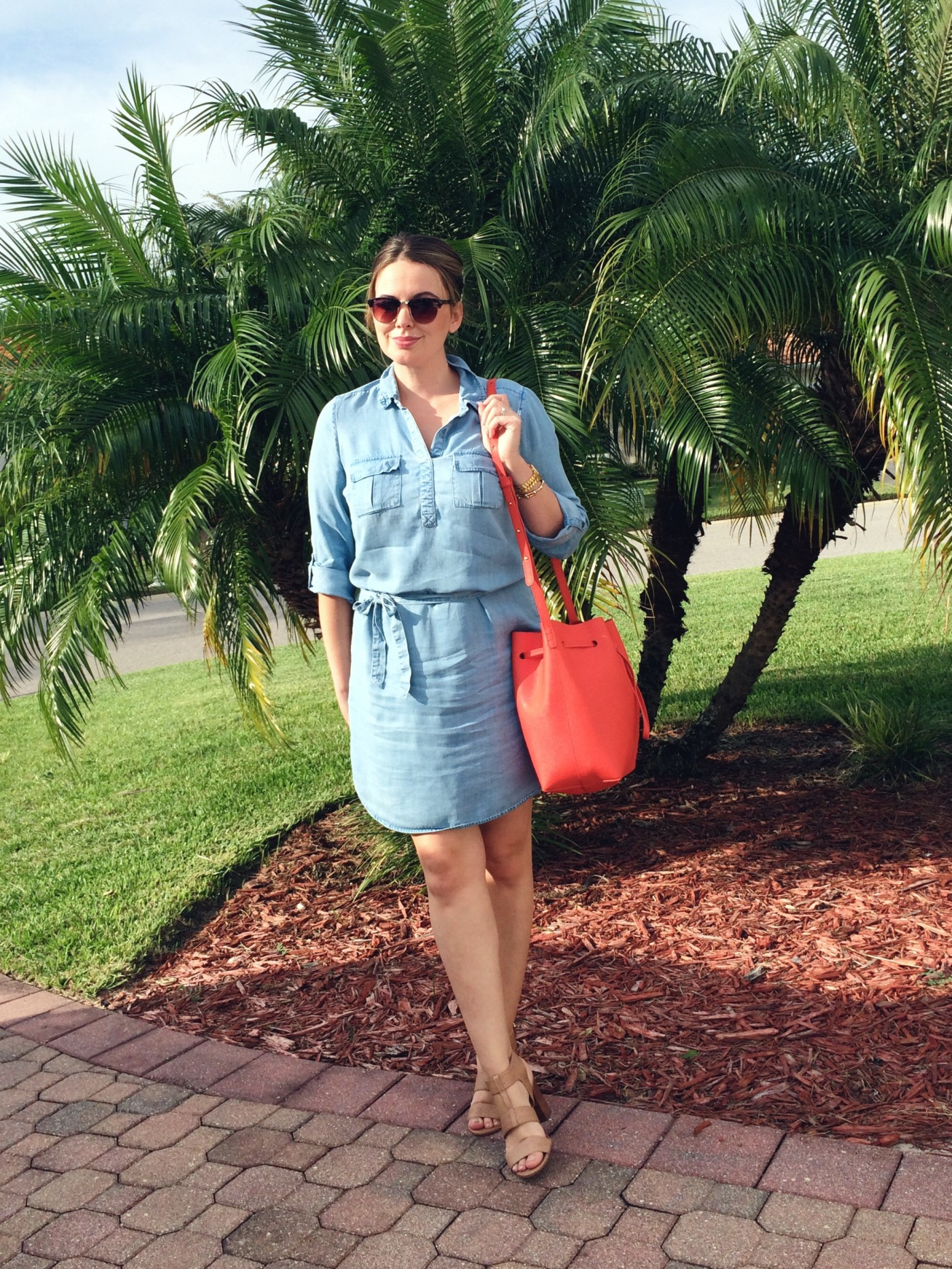 Chambray Dress, Style Basics, OOTD, Outfit Ideas, Style Blogger