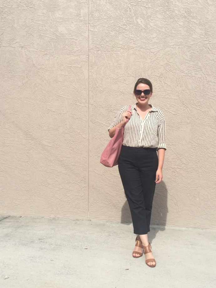 2016 Summer Capsule Wardrobe Outfit Remix