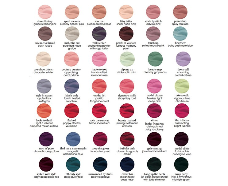 Essie Gel Couture Color Collection Glamour