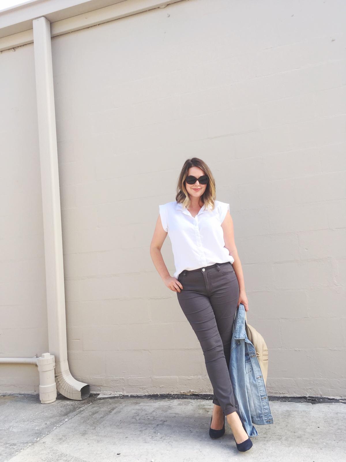 Fall 2016 LOFT Sateen Five Pocket Leggings, OOTD, Budget Style, Women's Fashion, keiralennox.com