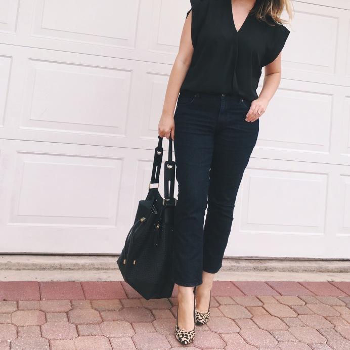 LOFT Kick Crop Jeans, Fresh Denim Styles 2016, Real-Life Style   keiralennox.com
