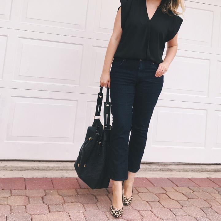 LOFT Kick Crop Jeans, Fresh Denim Styles 2016, Real-Life Style | keiralennox.com