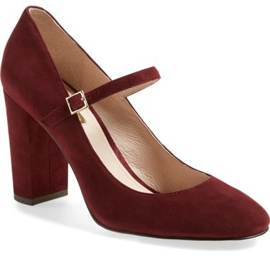 Fall 2016 Suede Mary Jane Pump