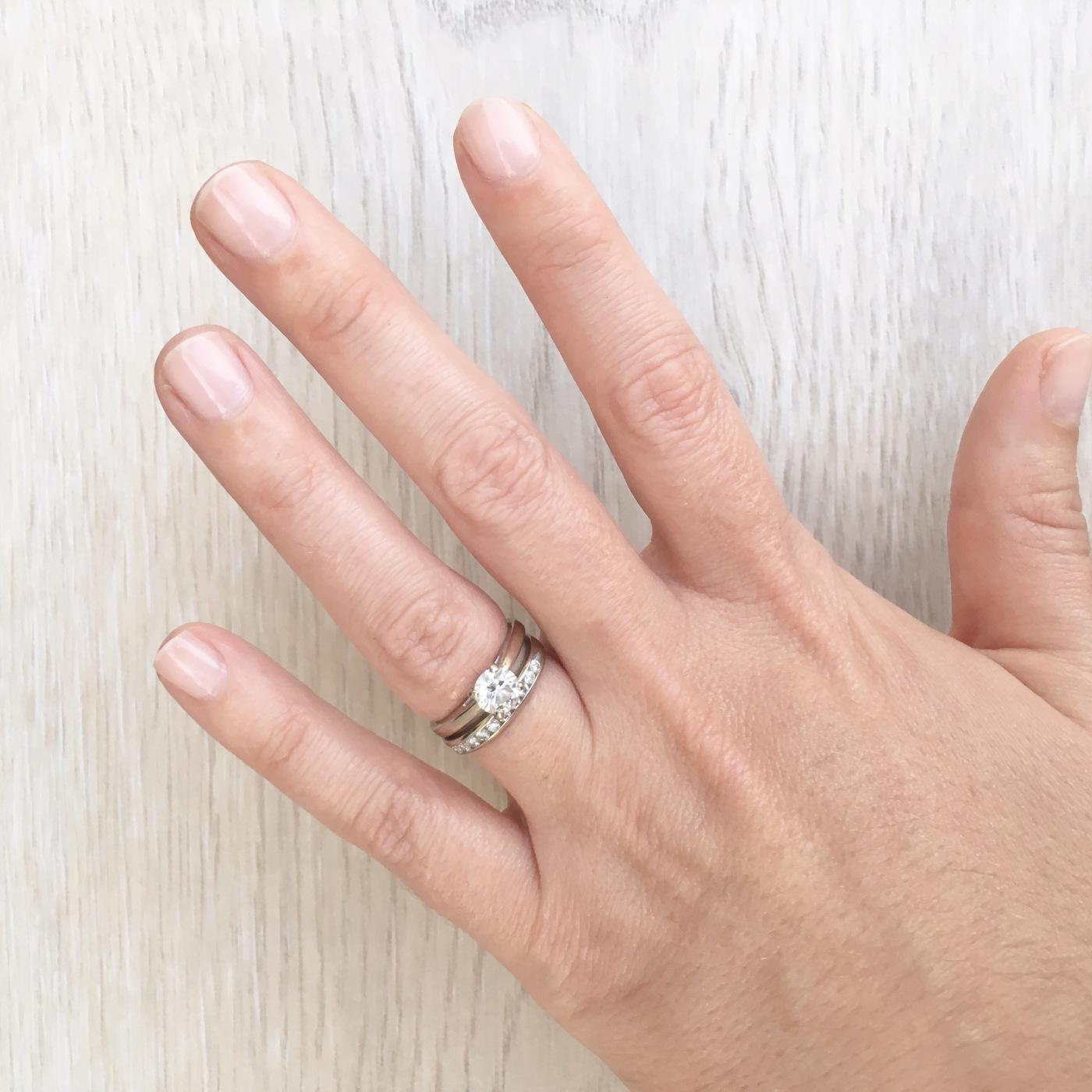 Essie Gel Couture Sheer Fantasy Manicure